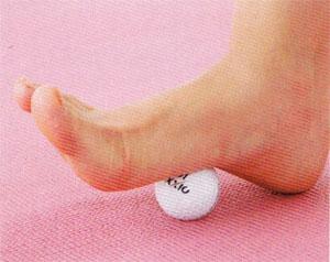 ゴルフボール ツボ押し