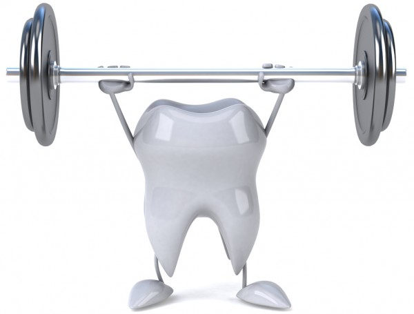 strong-tooth-deadlifting-weights